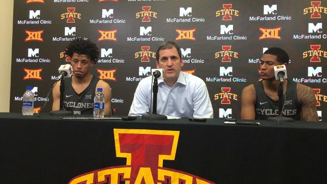 Steve Prohm says his team played with more intensity during the final 30 minutes