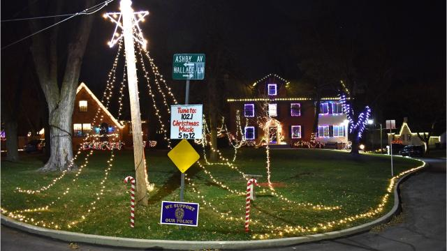 Christmas Light Displays.Where Are The Best Places To See Christmas Lights In Des Moines