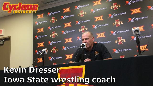 The Iowa State wrestling coach gave an early-season assessment on Tuesday.