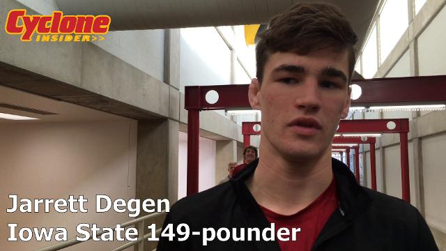 The Cyclones' redshirt freshman discusses what's worked for him so far this season.