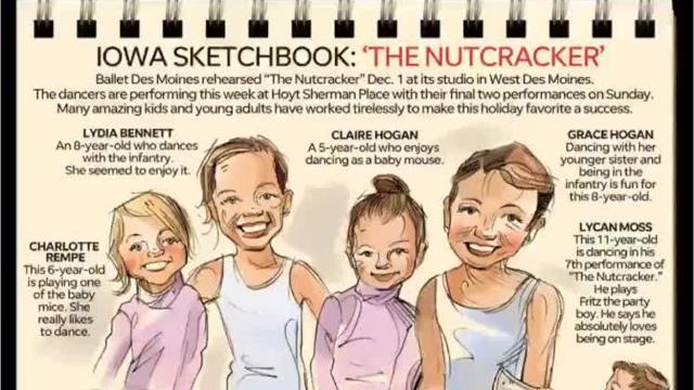 "Iowa Sketchbook: ""The Nutcracker"""
