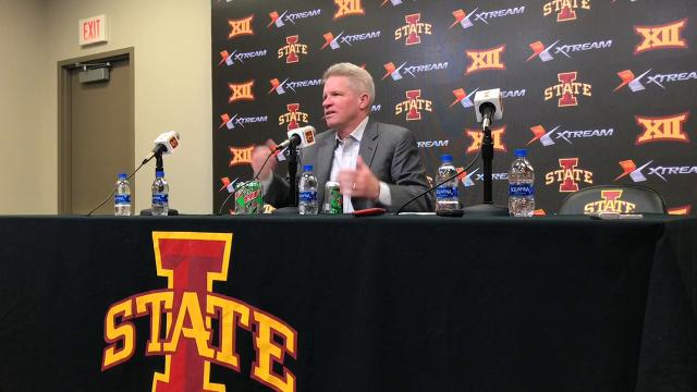 Iowa State's head women's basketball coach thanked fans for turning out after the Cyclones ended a four-game losing streak with a 99-58 victory over North Carolina Central in Ames on Sunday.