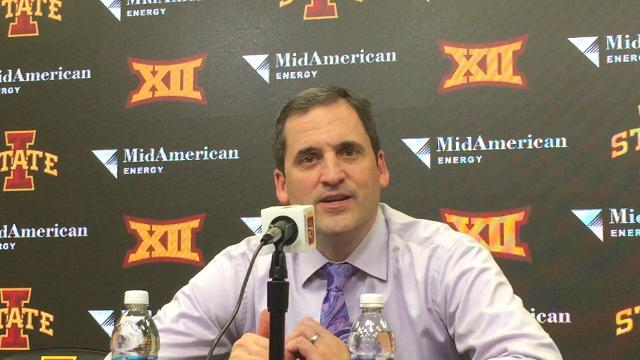 Cyclones coach Steve Prohm talks about how his team overcame a rough start