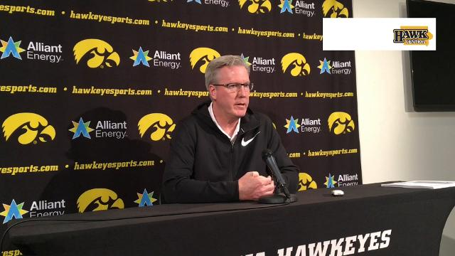 Fran McCaffery was impressed by Drake