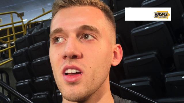 Jordan Bohannon on the benefit of having Connor McCaffery back