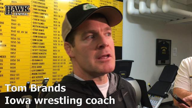 Iowa wrestling coach Tom Brands wasn't shocked at all by Spencer Lee's stellar debut.
