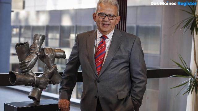 Longtime Bankers Trust CEO Suku Radia talks about why he likes to give back to the community and what he hopes for the future of Des Moines.