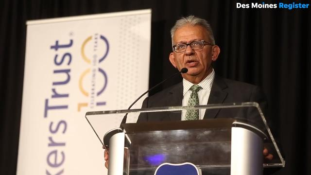 Bankers Trust CEO Suku Radia give some business and life advice as he readies for retirement.