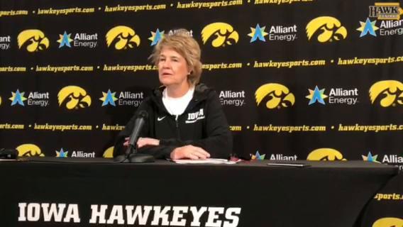 Lisa Bluder on Iowa cracking top 25