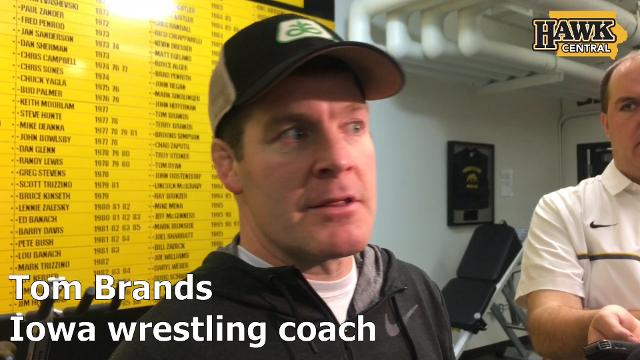 The Iowa wrestling coach saw good things and other areas in need of improvement from his redshirt freshman last weekend.