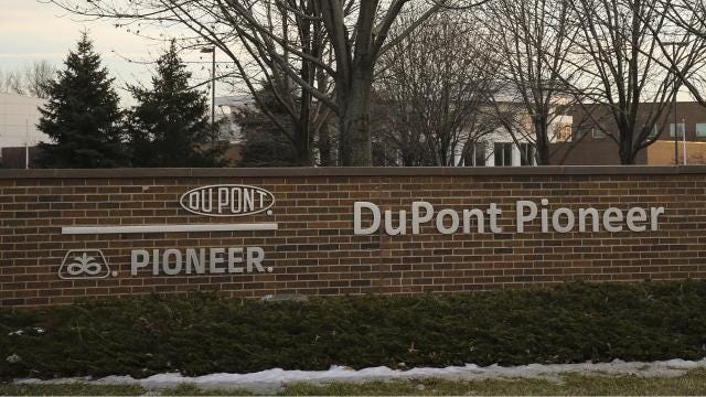 DuPont Pioneer has laid off an undisclosed number of workers in Johnston, company officials confirmed to the Des Moines Register on Tuesday.