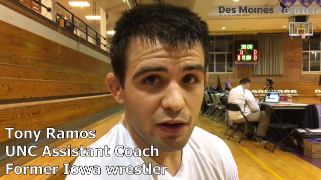 Former Iowa national champion Tony Ramos discusses the challenges his first two years of coaching has brought.
