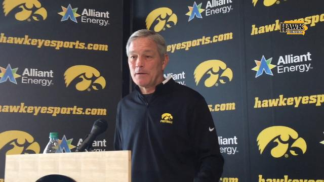 Iowa coach Kirk Ferentz discusses the defensive-back commitments in his Class of 2018.