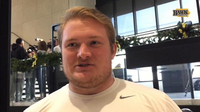 Iowa OL Sean Welsh revealed before the season that he deals with depression.