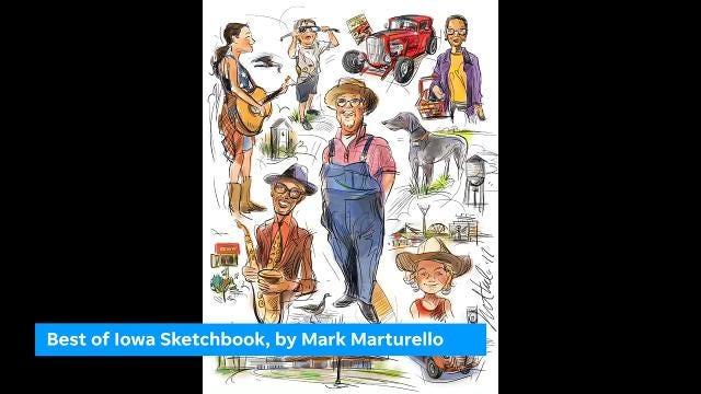 Best of Iowa Sketchbook 2017