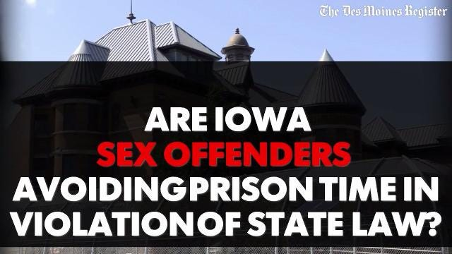 Sex offender laws 2008 in iowa