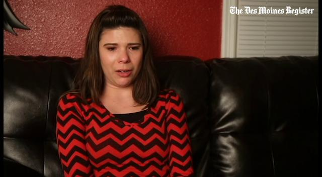 Malayia Knapp talks about being locked in a basement room for a week