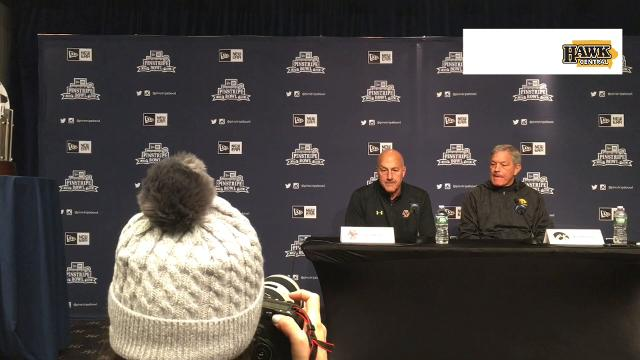 It's the continuation of a season full of injuries for Iowa's Pinstripe Bowl opponent, as coach Steve Addazio explains