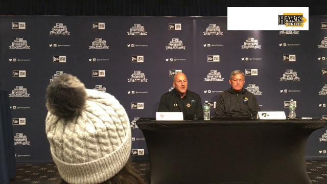 Steve Addazio says his Eagles are preparing for a disciplined, physical opponent in Pinstripe Bowl