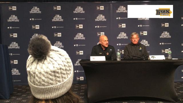 Kirk Ferentz's counterpart with high praise for Iowa coach