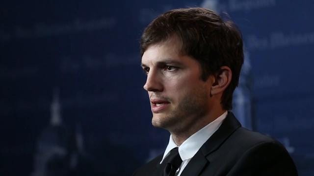 Kutcher talks about his first shot, being broke and dreaming big