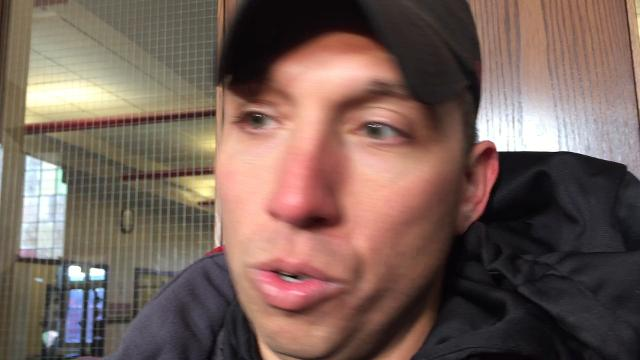 Matt Campbell: It's cold, but we're from Iowa