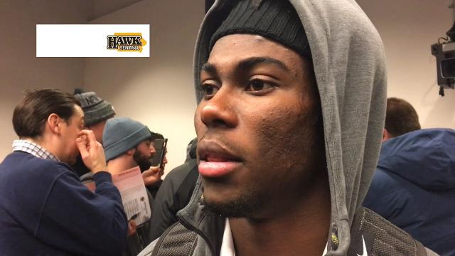 The Iowa junior cornerback is aware that he's considered the nation's best, however. He believes he is too