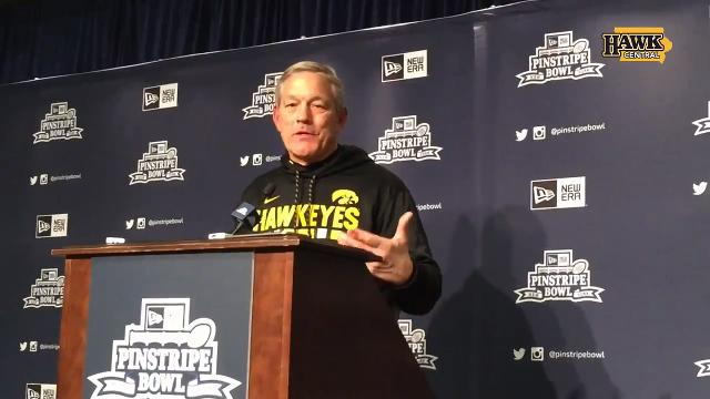 Kirk Ferentz discusses the Hawkeyes' 27-20 victory against Boston College.