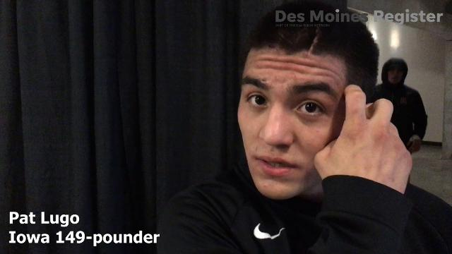 The Edinboro transfer discusses his goals for this year while he redshirts with the Hawkeyes.