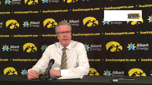 The Iowa coach was thrilled by his team's passing in Friday's rout.