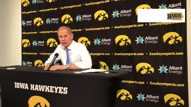 The Michigan coach has high praise for Hawkeyes and his counterpart Fran McCaffery