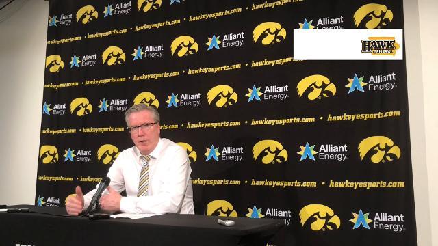 His team took a step backward vs. Michigan, the Iowa coach admits.