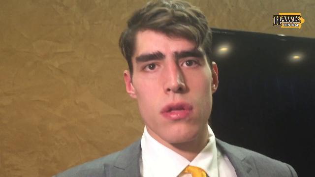 Luka Garza explains how Iowa messed up game plan