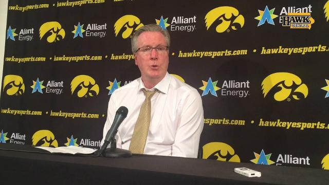 Iowa coach Fran McCaffery looks for positives after a 92-81 loss to Ohio State.