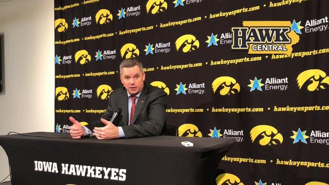 Chris Holtmann says he told his team Iowa 'comes at you in waves'
