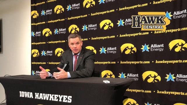 Ohio State coach on Iowa's second-half run