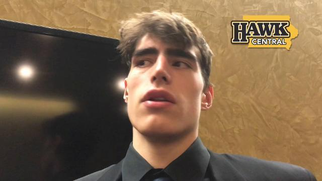 Luka Garza on the frustration of losing