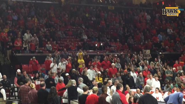 Fran McCaffery ejected at Maryland