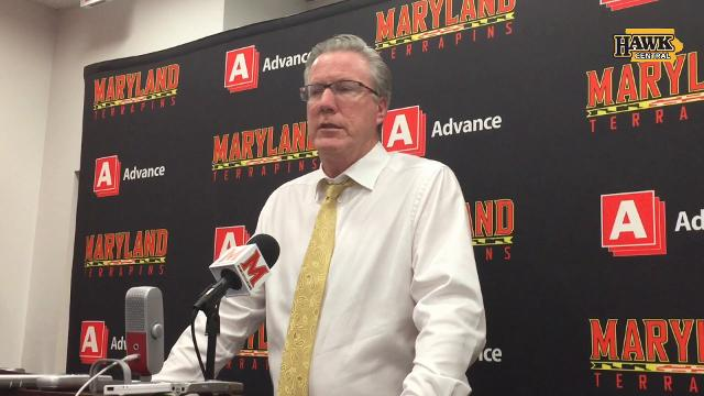 The Iowa coach was ejected at Maryland.