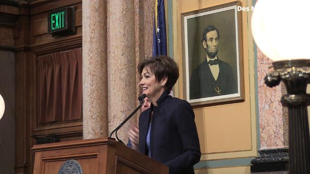 On the heels of the new federal tax reform law, Gov. Kim Reynolds said that Iowa's own tax system needs to be changed in order to provide tax relief during her first Condition of the State address.