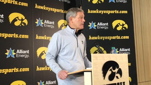 What's on Kirk Ferentz's to-do list for 2018