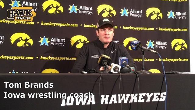 The 12th-year Iowa wrestling expects a fight on Sunday.