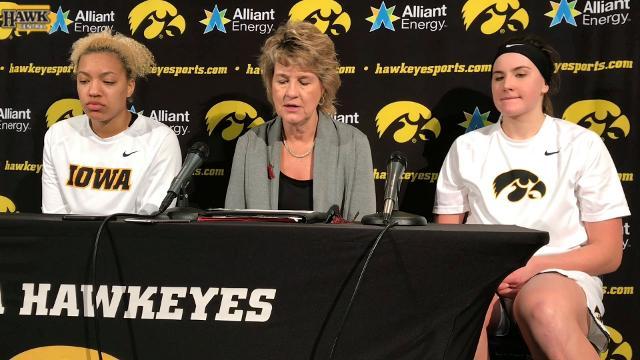 Lisa Bluder breaks down Iowa's 76-70 loss to Purdue.