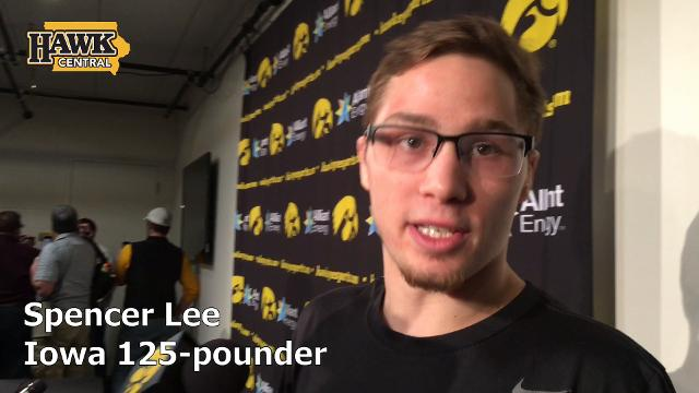 Iowa freshman Spencer Lee discusses the importance of fast starts.