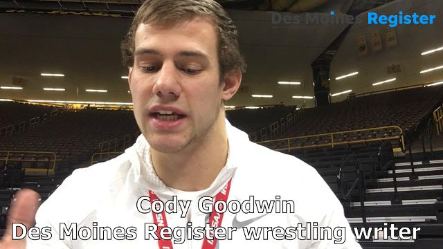Watch as the Register's wrestling writer breaks down the Hawkeyes' 20-12 win over the Cowboys.