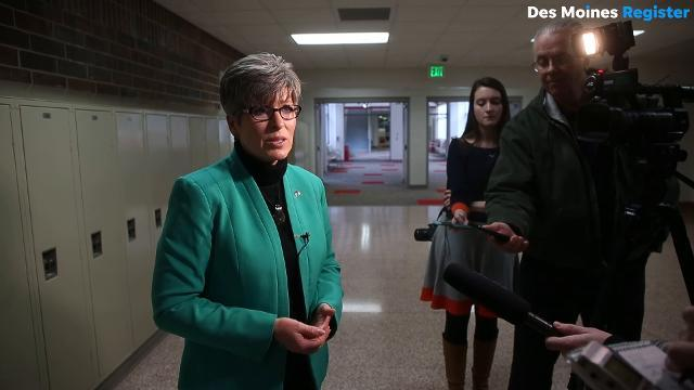 Sen. Joni Ernst on President Trump's latest reported controversial remarks