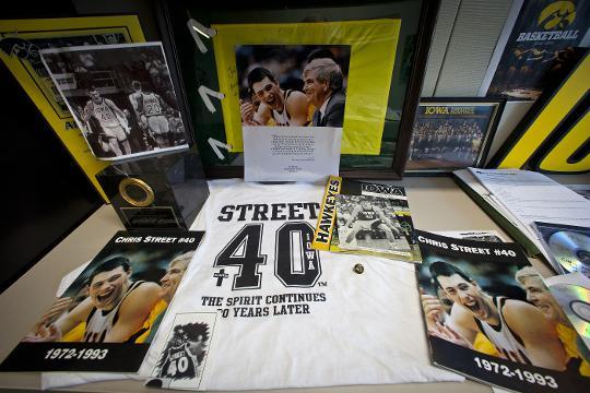 James Winters remembers Hawkeyes teammate Chris Street