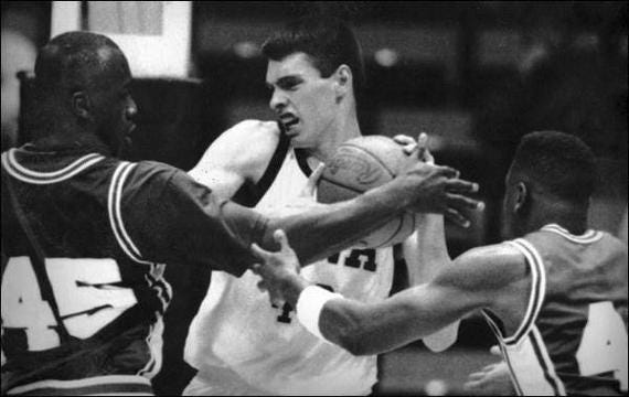 Chris Street's final game: Iowa at Duke, Jan. 16, 1993