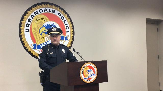 Sgt. Chad Underwood talks about an alleged attempted murder that sent a man to the hospital with severe injuries on Wednesday.