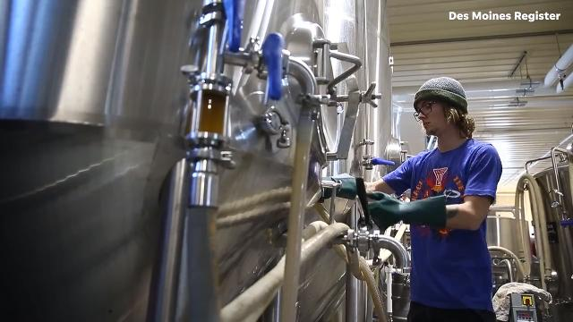 Breweries are one group who stand to benefit from the new tax code as the excise tax is cut in half, from $7 per barrel to $3.50. Keg Creek had plans underway to expand but are excited to have the extra funds if needed.